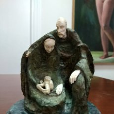 Arte: CRISOELEFANTINA EN BRONCE Y MARFIL DE LA ESCULTORA AUSTRÍACA SUSANA C. POLAC. Lote 119618450