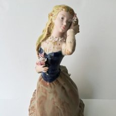 Arte: FIGURA DE PORCELANA DE RAMÓN INGLÉS (VALENCIA). 40 CM.. Lote 119893879