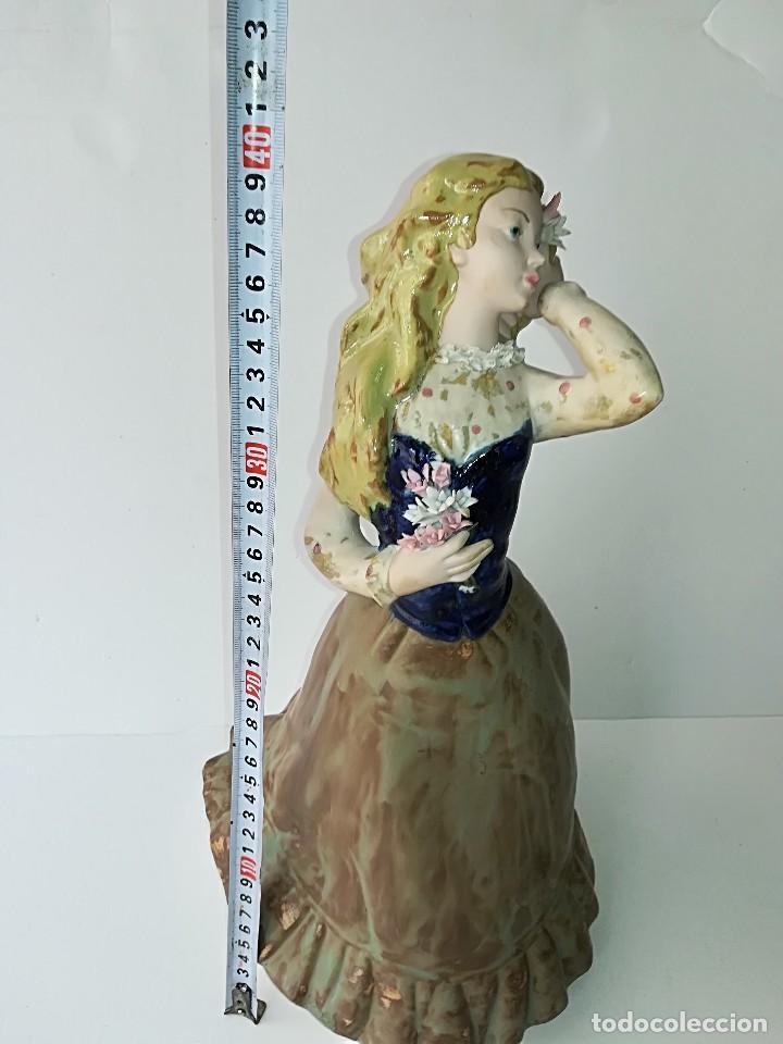 Arte: FIGURA DE PORCELANA DE RAMÓN INGLÉS (VALENCIA). 40 cm. - Foto 3 - 119893879