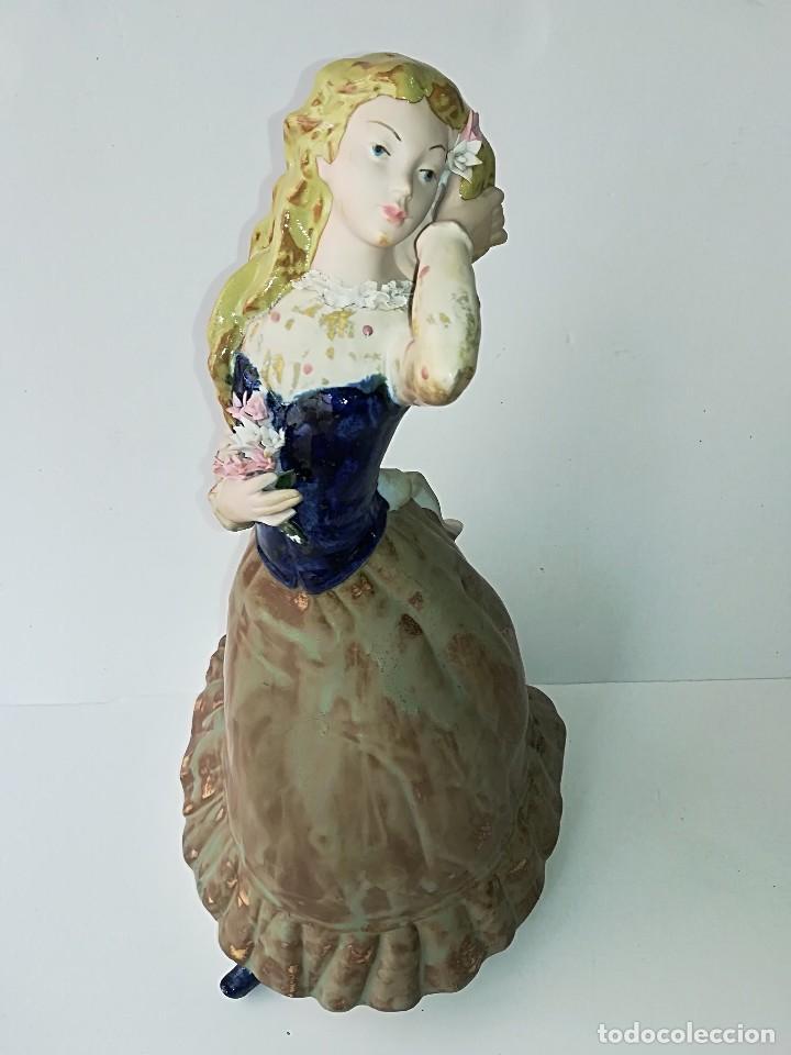 Arte: FIGURA DE PORCELANA DE RAMÓN INGLÉS (VALENCIA). 40 cm. - Foto 4 - 119893879