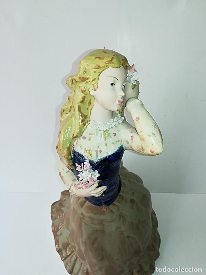 Arte: FIGURA DE PORCELANA DE RAMÓN INGLÉS (VALENCIA). 40 cm. - Foto 5 - 119893879