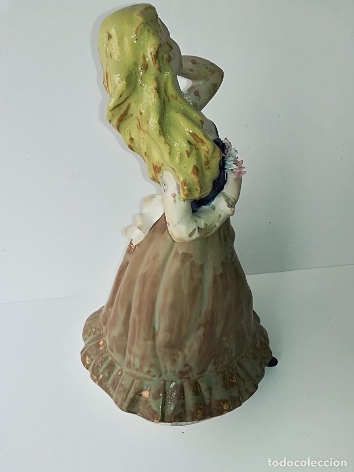 Arte: FIGURA DE PORCELANA DE RAMÓN INGLÉS (VALENCIA). 40 cm. - Foto 6 - 119893879