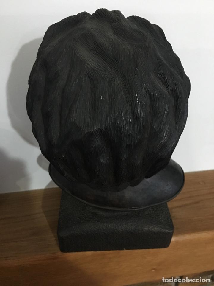 Arte: Busto de Rosalía de Castro en bronce del escultor de Ferrol Alonso - Foto 2 - 120531120