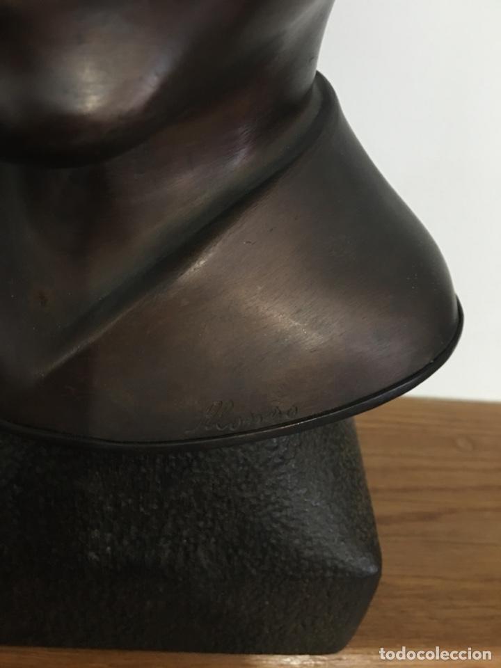 Arte: Busto de Castelao en bronce del escultor Alonso - Foto 2 - 120531244