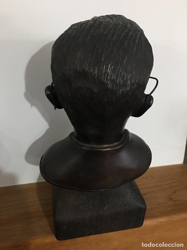 Arte: Busto de Castelao en bronce del escultor Alonso - Foto 3 - 120531244
