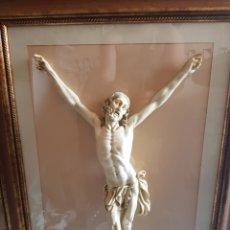 Arte: CRISTO MARFIL MARFILINA NO ES MARFIL. Lote 121067271