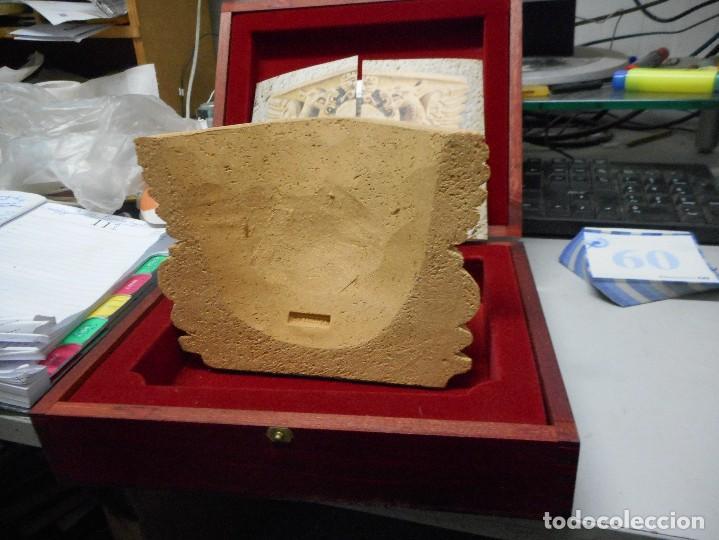 Arte: escudo generalitat catalunya realizado a mano por satorras con su libreto y caja original - Foto 4 - 121172847