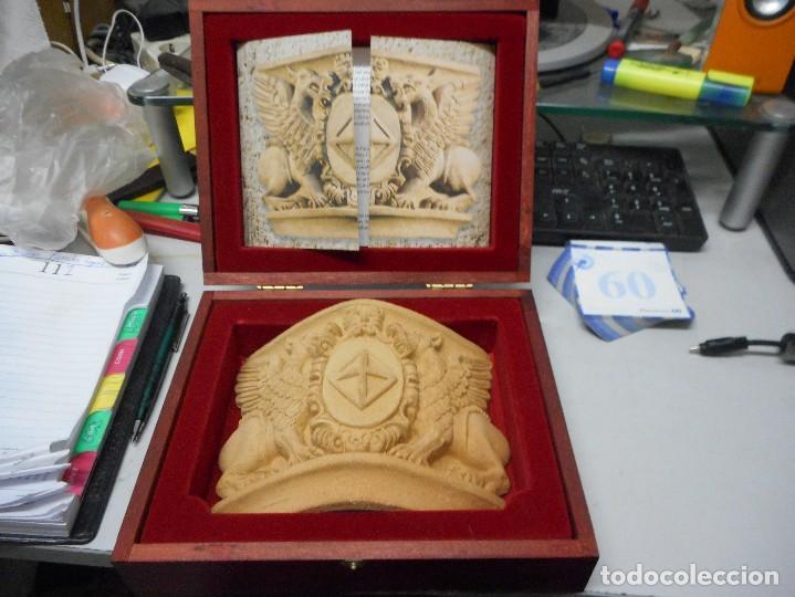 Arte: escudo generalitat catalunya realizado a mano por satorras con su libreto y caja original - Foto 10 - 121172847