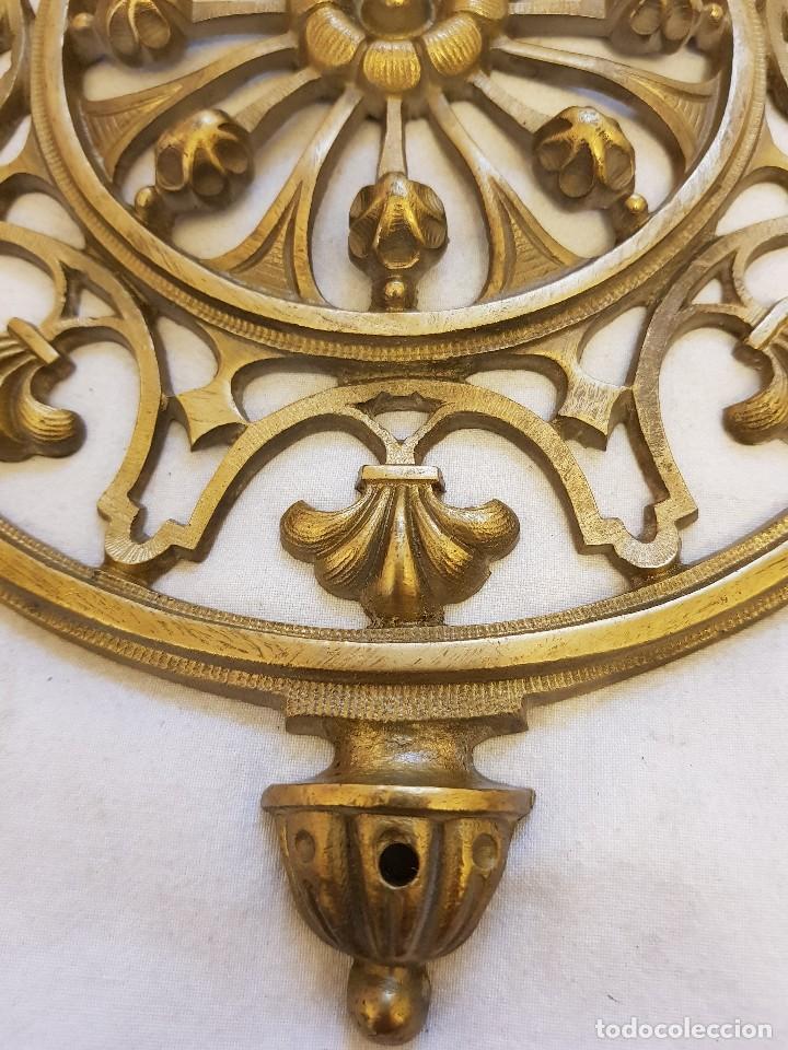 Arte: Aplique bronce. Finales siglo XIX - Foto 3 - 122311479