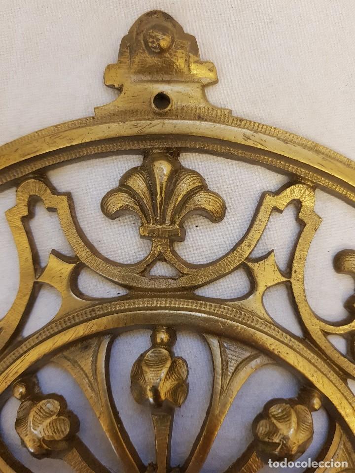 Arte: Aplique bronce. Finales siglo XIX - Foto 4 - 122311479