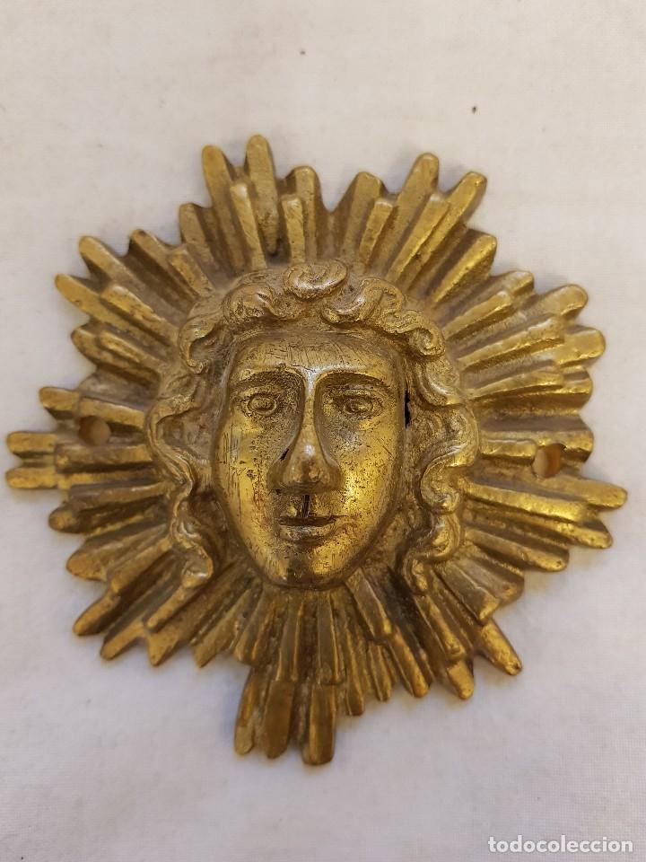 APLIQUE APOLO. SIGLO XVIII-XIX (Arte - Escultura - Bronce)