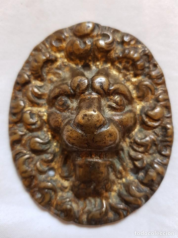Arte: Aplique bronce y ángel. Siglo XVII-XVIII - Foto 2 - 122311811
