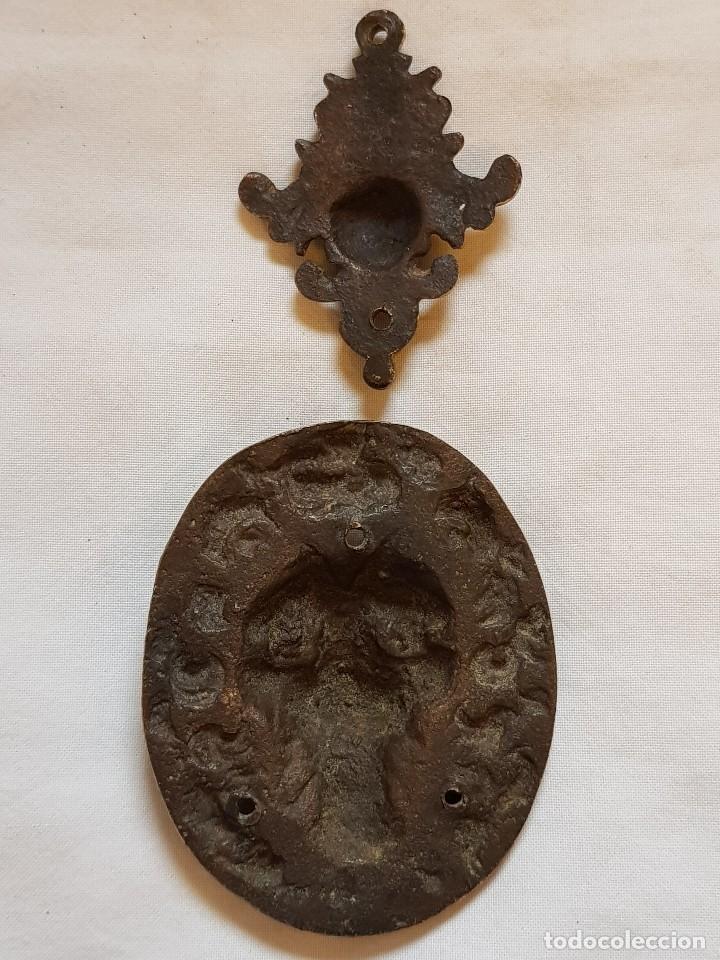 Arte: Aplique bronce y ángel. Siglo XVII-XVIII - Foto 5 - 122311811
