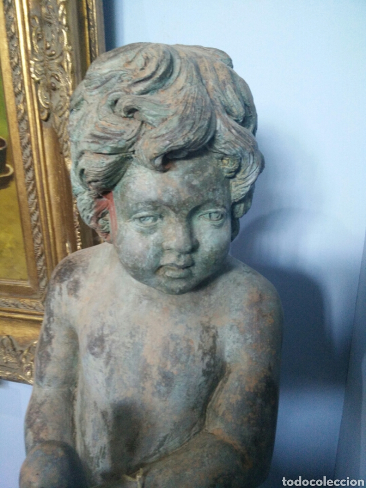 Arte: Bronce de niño con maracas A D - Foto 2 - 123575939
