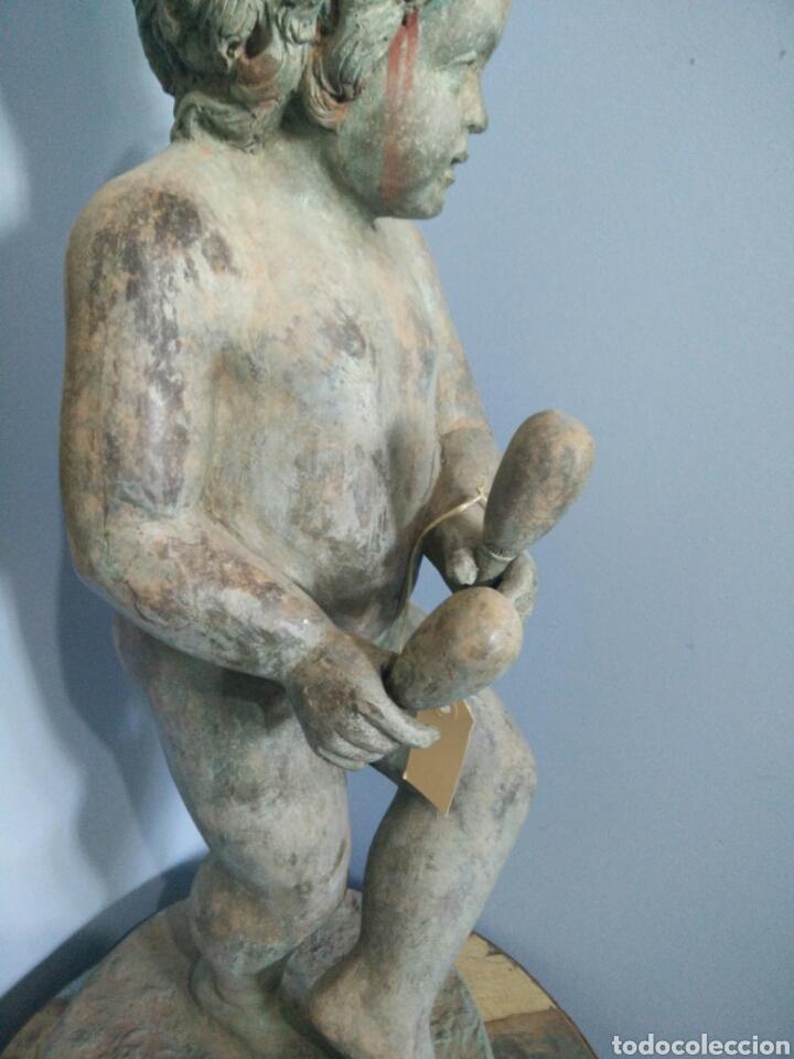 Arte: Bronce de niño con maracas A D - Foto 3 - 123575939