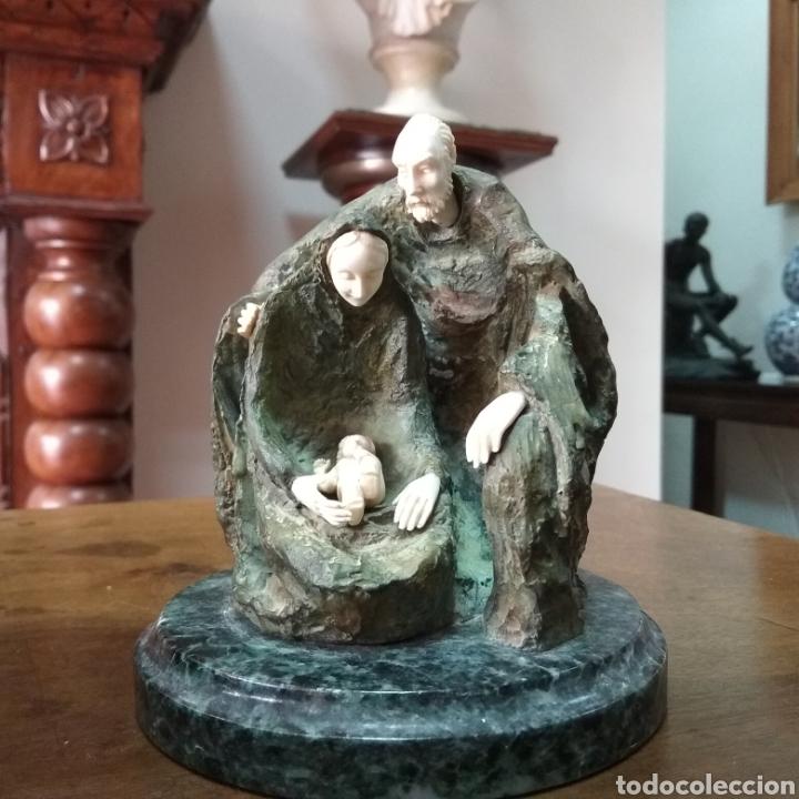 Arte: Crisoelefantina en bronce y marfil de la escultora austríaca Susana C. Polac - Foto 3 - 119618450