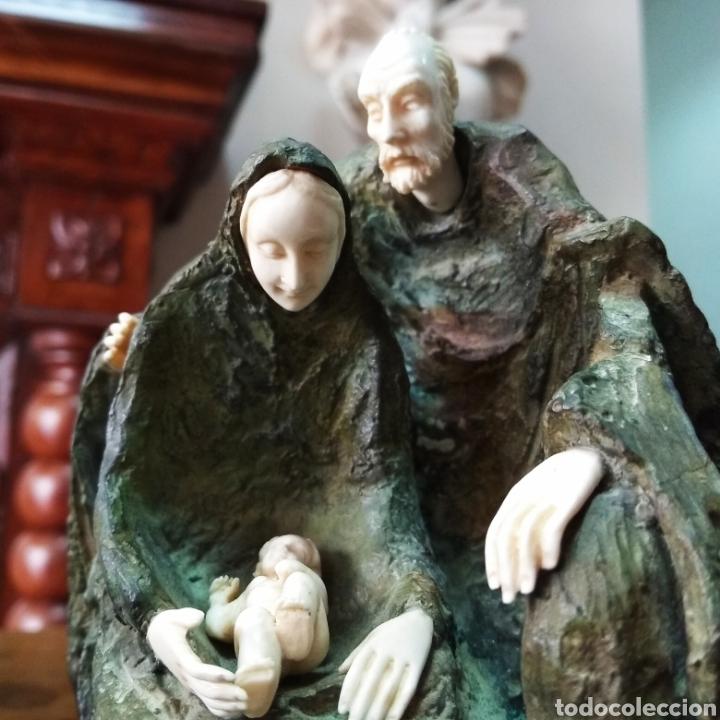 Arte: Crisoelefantina en bronce y marfil de la escultora austríaca Susana C. Polac - Foto 4 - 119618450