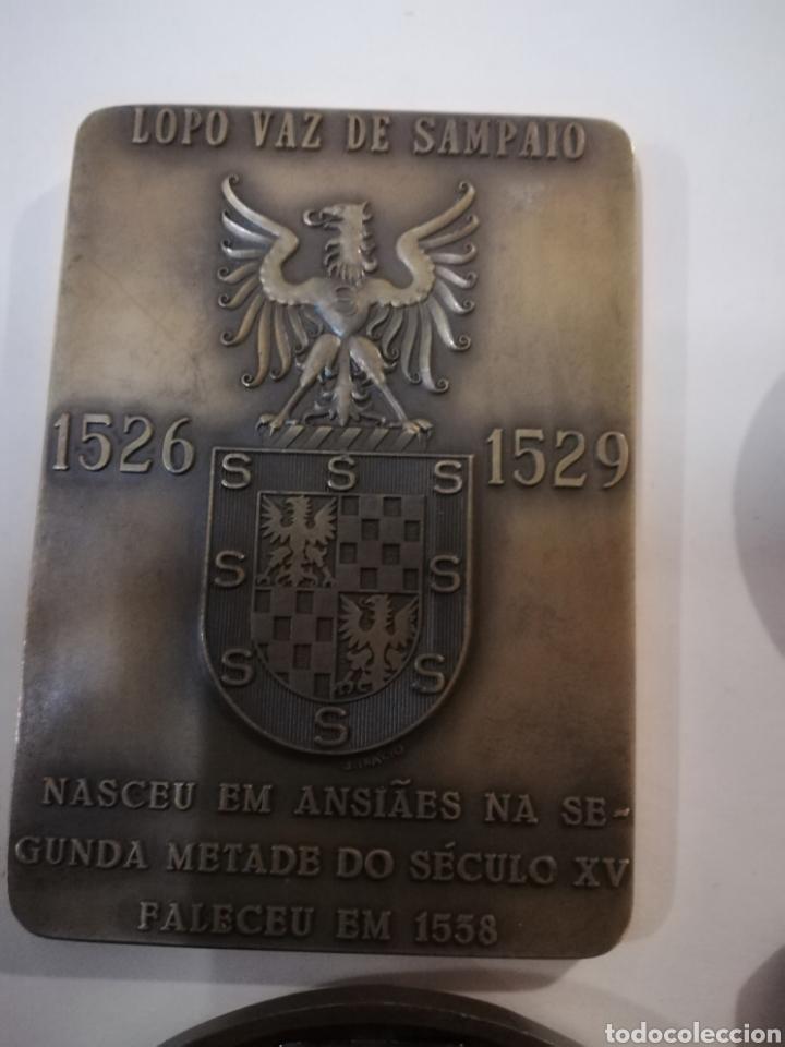 Arte: 4 medallas de bronce comemorativas - Foto 5 - 124930751