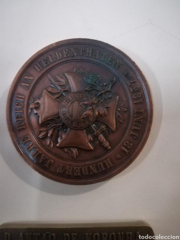 Arte: 4 medallas de bronce comemorativas - Foto 6 - 124930751