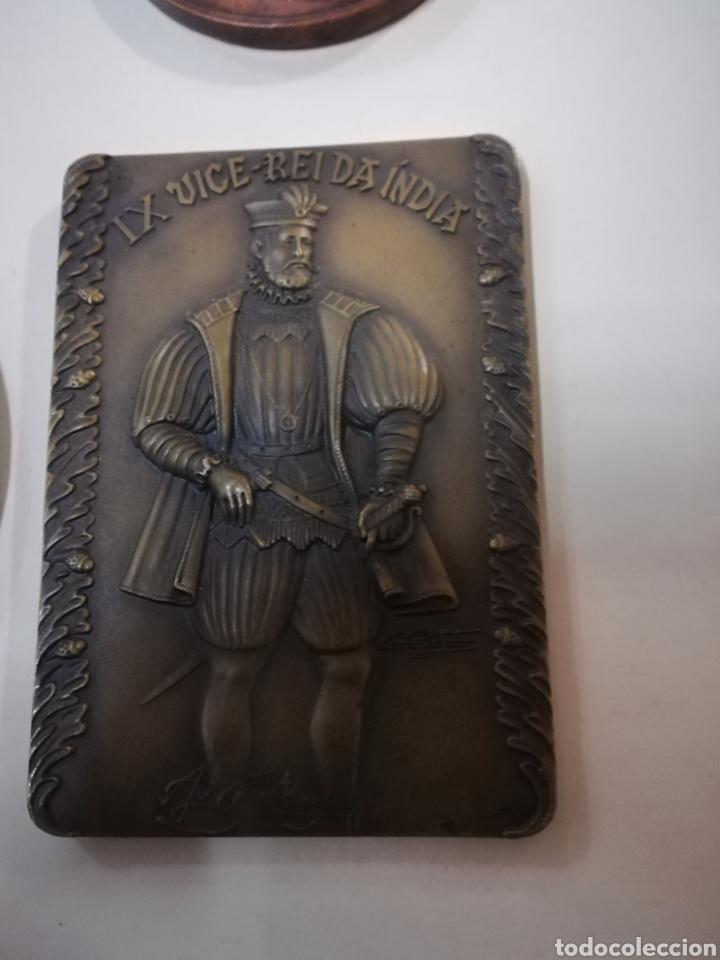 Arte: 4 medallas de bronce comemorativas - Foto 7 - 124930751