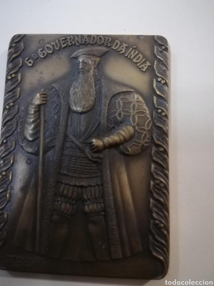 Arte: 4 medallas de bronce comemorativas - Foto 10 - 124930751