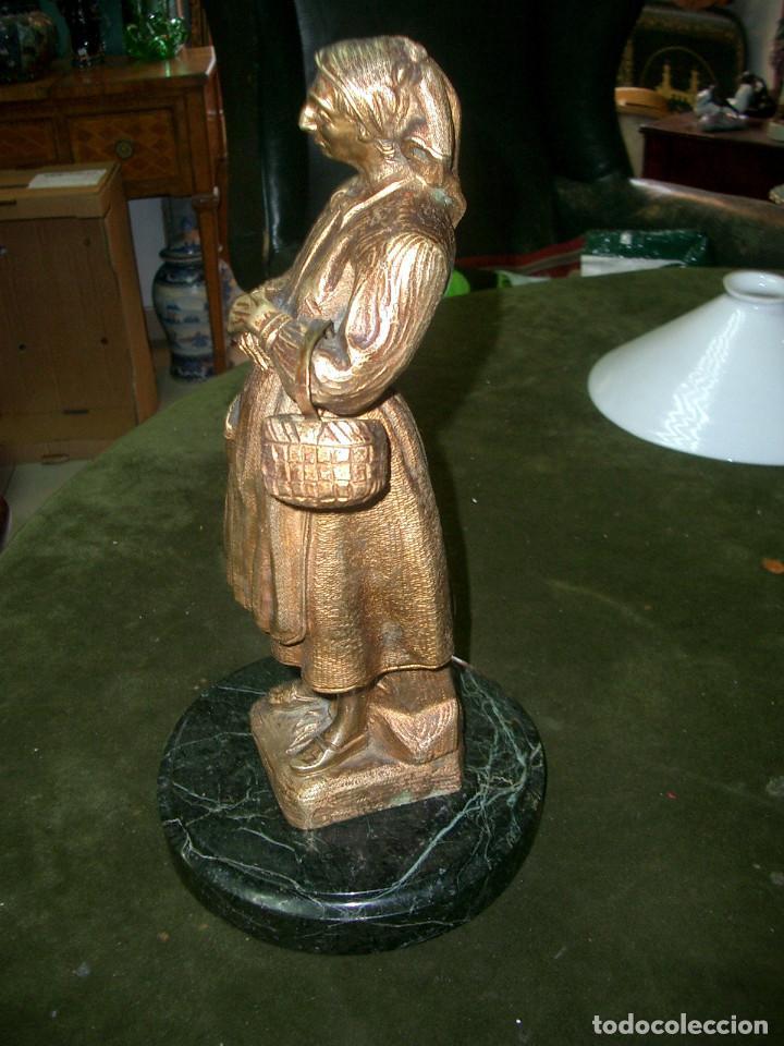 Arte: Escultura en bronce, gallega, sin firmar - Foto 2 - 125266807