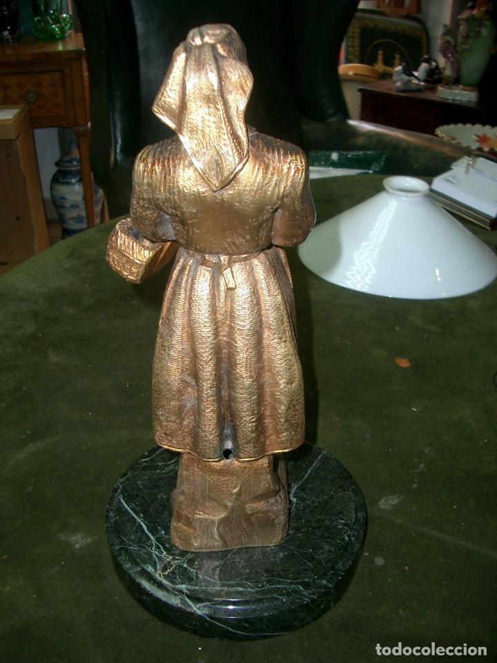 Arte: Escultura en bronce, gallega, sin firmar - Foto 3 - 125266807