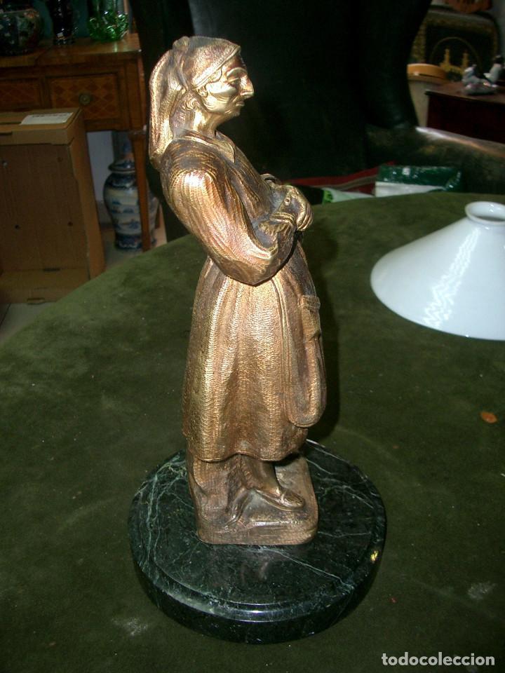 Arte: Escultura en bronce, gallega, sin firmar - Foto 4 - 125266807