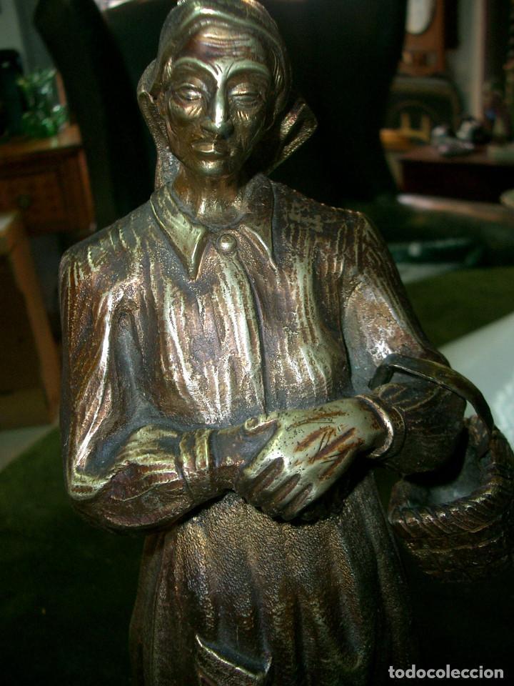 Arte: Escultura en bronce, gallega, sin firmar - Foto 5 - 125266807