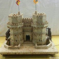 Arte: CONSTRUCCIÓN EN HUESO Y MADERA DE LAS TORRES DE SERRANOS (VALENCIA). Lote 125427842