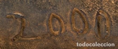 """Arte: TÀPIES PUIG, Antoni . """"Nus"""", 2000. Bronce. Firmada y fechada. Con certificado de la Fundación Tápies - Foto 5 - 125849543"""