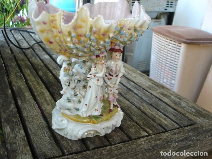 Arte: centro de mesaa en porcelana del viejo paris siglo XIX precioso ver fotos - Foto 3 - 127556647