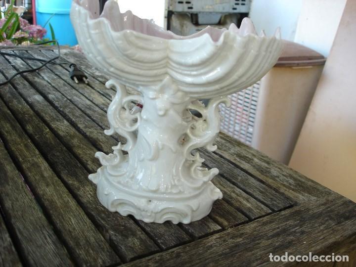 Arte: centro de mesaa en porcelana del viejo paris siglo XIX precioso ver fotos - Foto 5 - 127556647