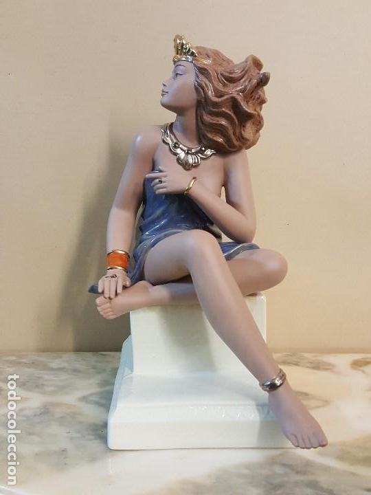 Arte: Princesa egipcia sentada melena al viento - Foto 2 - 127864895