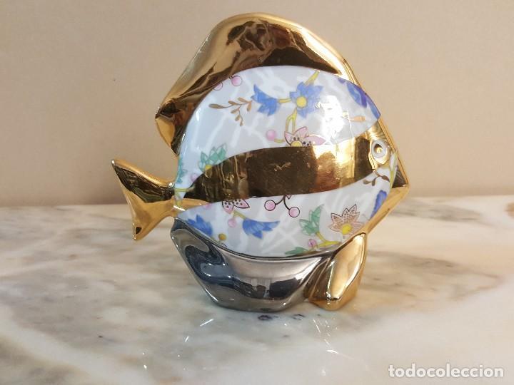PEZ. CERAGAN CERAMICAS (Arte - Escultura - Porcelana)