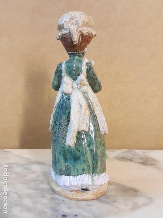 Arte: Figura porcelana Doncella: PORCELANA ARTÍSTICA LEVANTINA - Foto 4 - 127871887