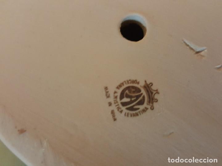 Arte: Figura porcelana Doncella: PORCELANA ARTÍSTICA LEVANTINA - Foto 5 - 127871887