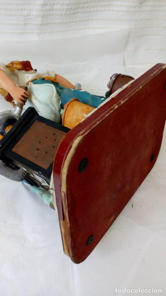 Arte: Figura de cocinero italiano en resina de Mike´s collection - Foto 12 - 127978819