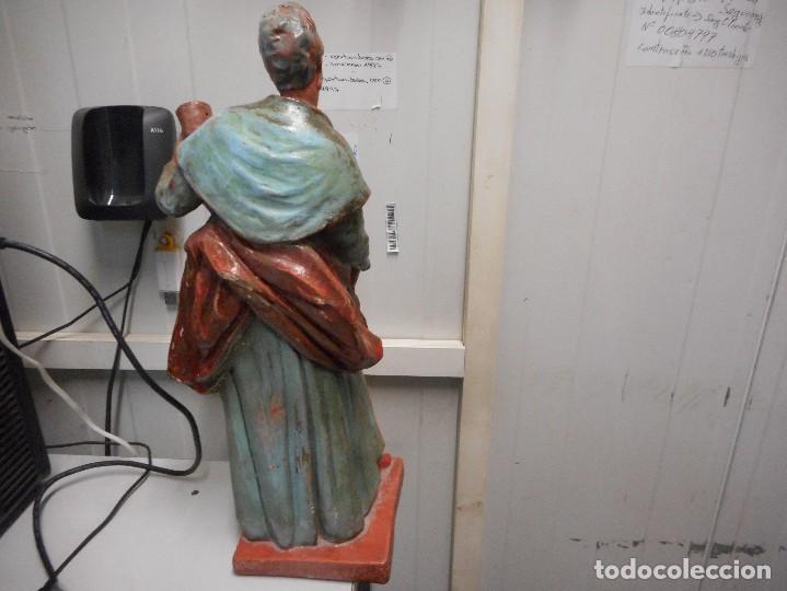 Arte: preciosa figura terracota barro, posible malagueño o cordobes 34 cm alto - Foto 4 - 128136739