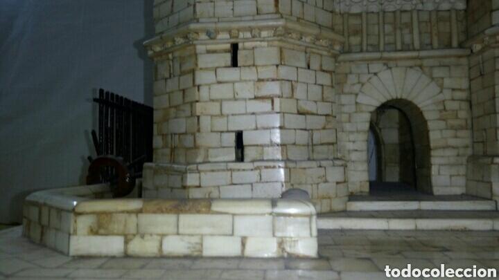 Arte: CONSTRUCCION ARTESANAL DE TORRES DE SERRANOS VALENCIA TALLADA A MANO EN HUESO Y MADERA(ver fotos) - Foto 5 - 127703959