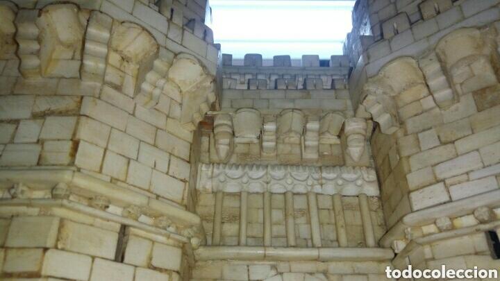 Arte: CONSTRUCCION ARTESANAL DE TORRES DE SERRANOS VALENCIA TALLADA A MANO EN HUESO Y MADERA(ver fotos) - Foto 9 - 127703959