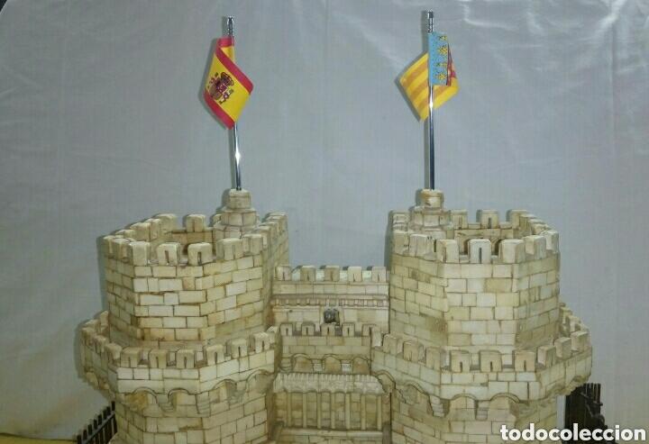 Arte: CONSTRUCCION ARTESANAL DE TORRES DE SERRANOS VALENCIA TALLADA A MANO EN HUESO Y MADERA(ver fotos) - Foto 13 - 127703959