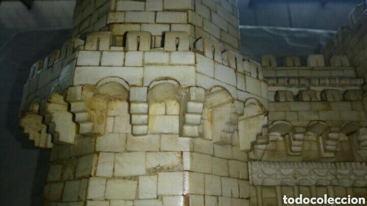 Arte: CONSTRUCCION ARTESANAL DE TORRES DE SERRANOS VALENCIA TALLADA A MANO EN HUESO Y MADERA(ver fotos) - Foto 14 - 127703959