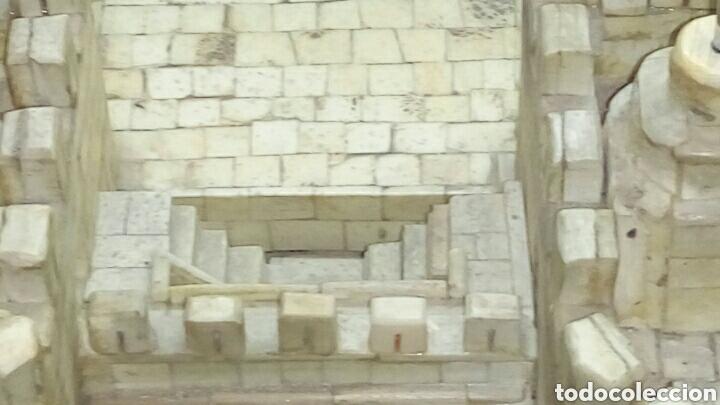 Arte: CONSTRUCCION ARTESANAL DE TORRES DE SERRANOS VALENCIA TALLADA A MANO EN HUESO Y MADERA(ver fotos) - Foto 21 - 127703959
