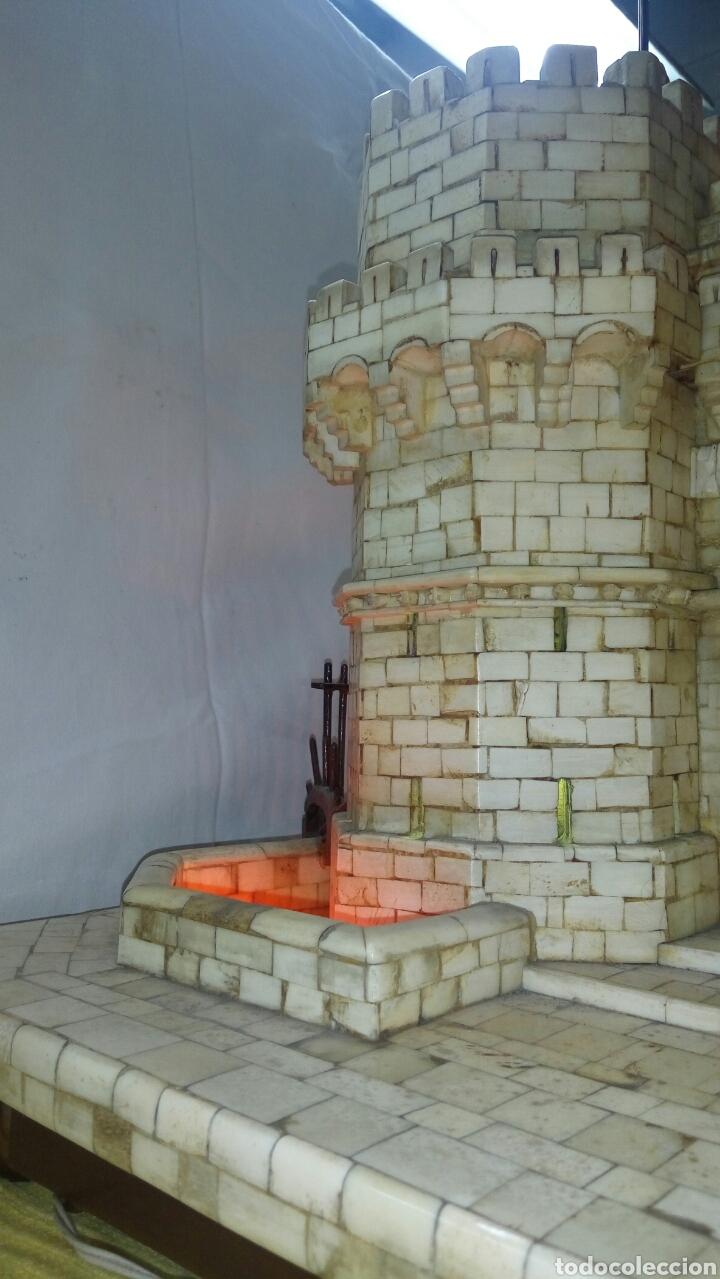 Arte: CONSTRUCCION ARTESANAL DE TORRES DE SERRANOS VALENCIA TALLADA A MANO EN HUESO Y MADERA(ver fotos) - Foto 20 - 127703959
