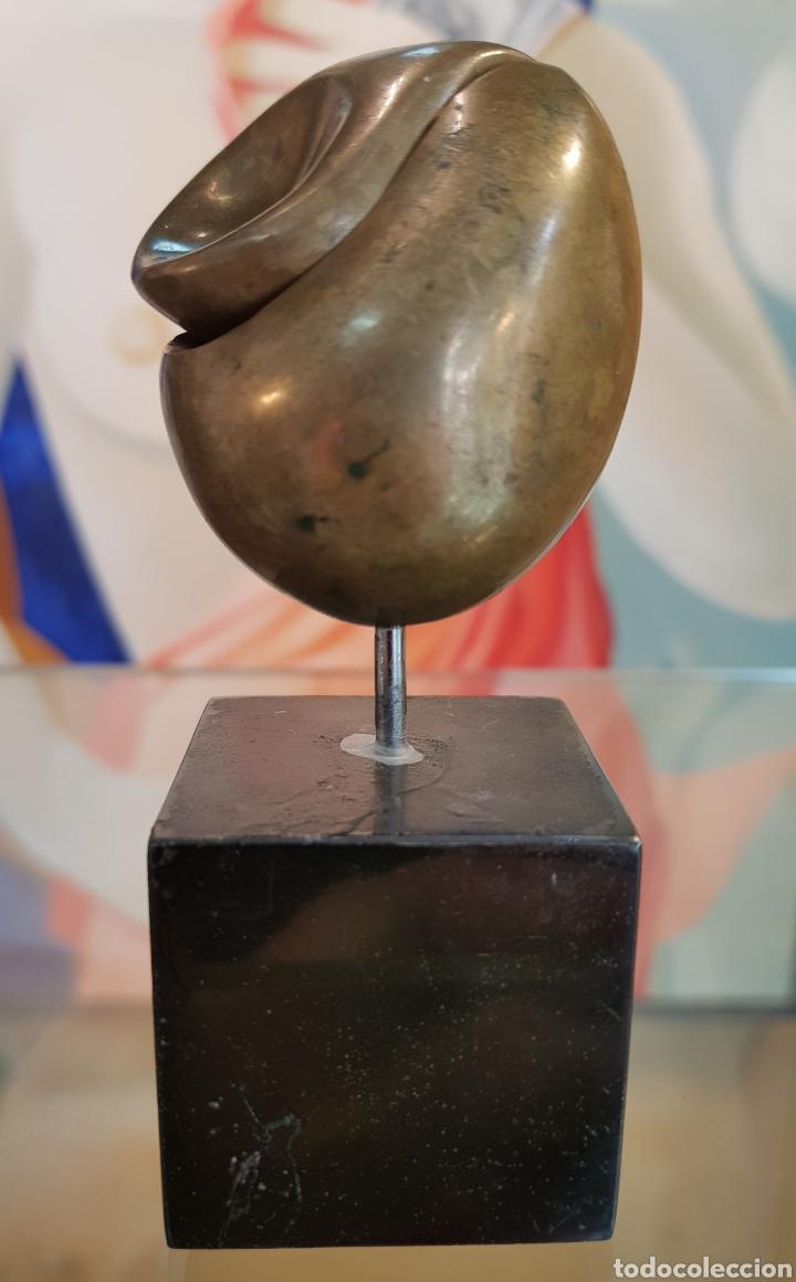Arte: Machu Arras (Málaga 1948), Pequeña pero muy interesante escultura bronce, firmada. - Foto 3 - 128613307