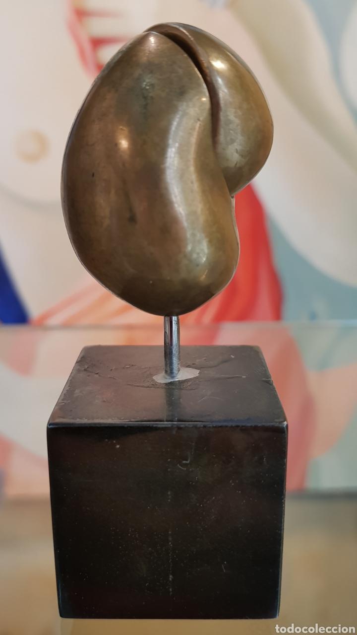 Arte: Machu Arras (Málaga 1948), Pequeña pero muy interesante escultura bronce, firmada. - Foto 4 - 128613307