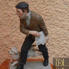 Arte: FIGURA DE PORCELANA DE ALGORA, PROFESIONES POPULARES. Lote 129683623
