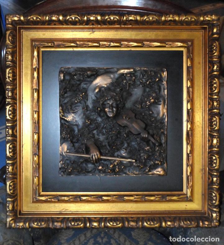 SORIANO MENÉNDEZ. CUADROS EN BRONCE (Arte - Escultura - Bronce)