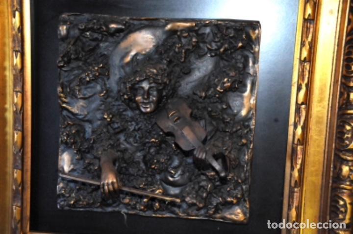 Arte: Soriano Menéndez. Cuadros en bronce - Foto 2 - 130184719